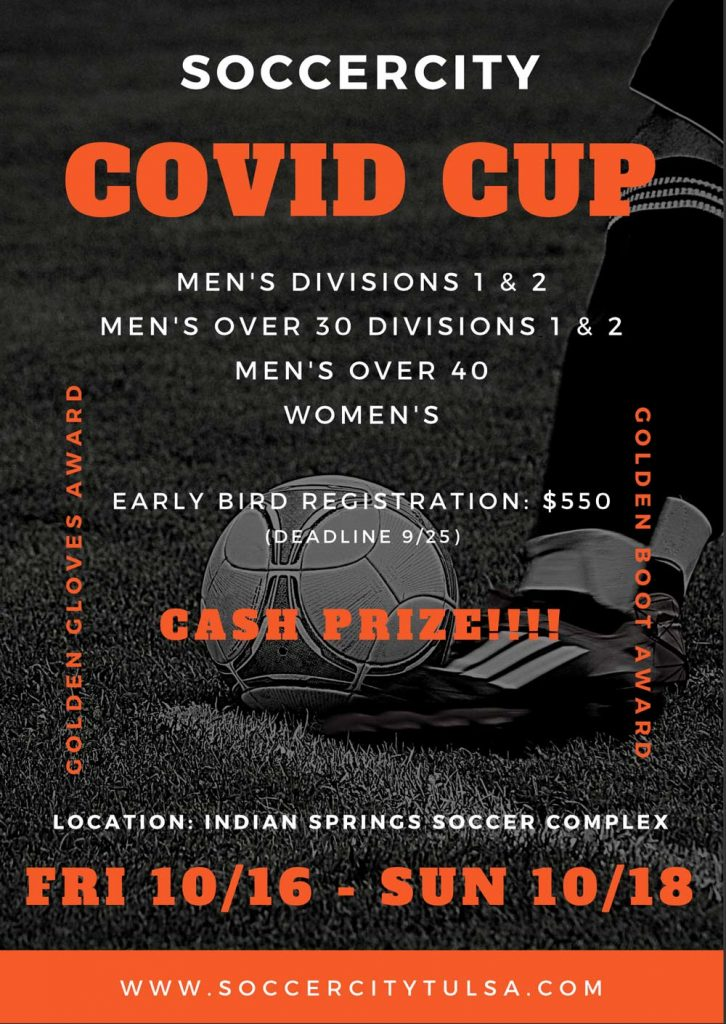 COVID CUP Flyer 2020