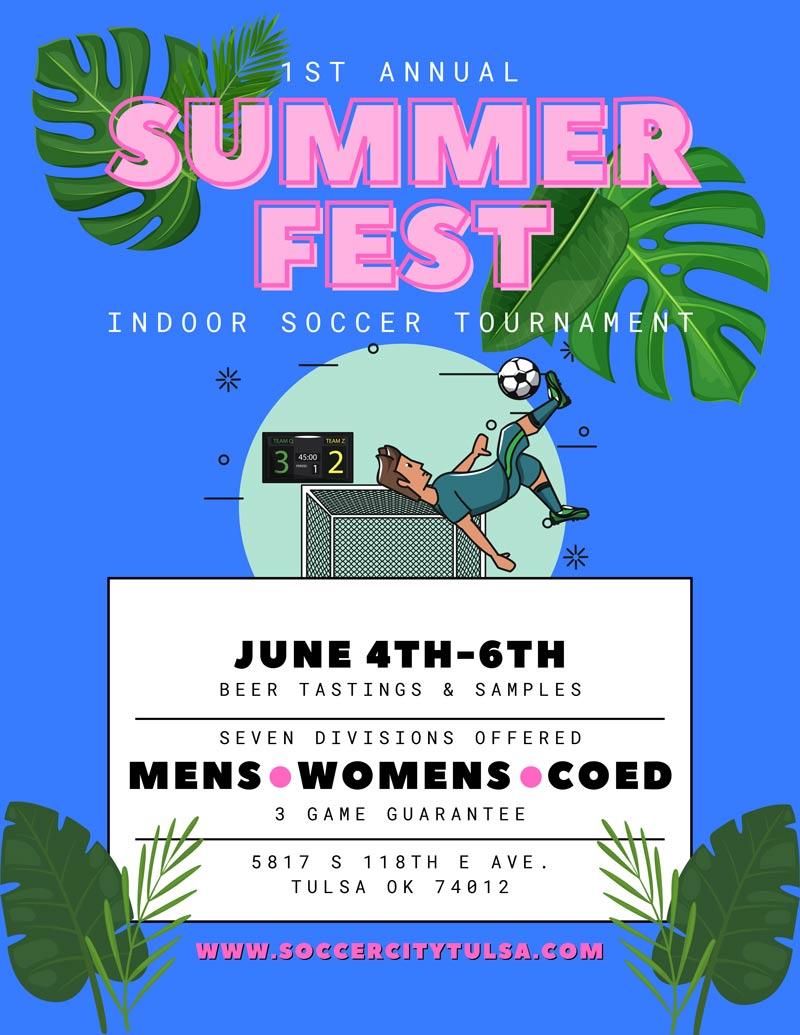 SoccerCity Tulsa Summerfest 2021
